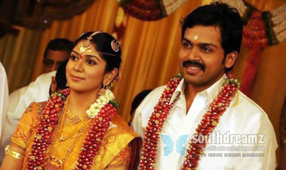 karthi marriage photos 03 Karthi expecting his first baby