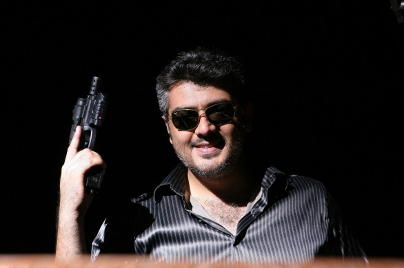 Mankatha HQ Stills027 586x390 Mankatha   Super Hit in Kerala after Endhiran: The Robot