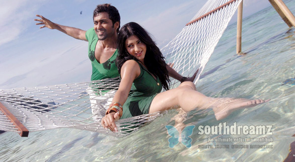 7am arivu surya shruti hassan unseen photos 7am Arivu   a movie to be treasured, not to be complained