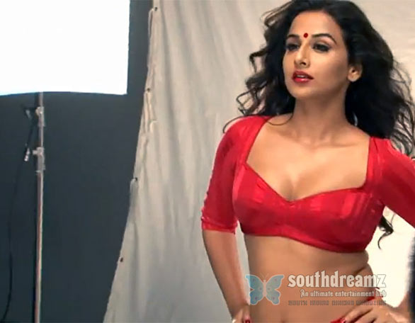 Making of The Dirty Picture! Hot photos of Vidya Balan