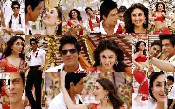 ra one shahrukh khan kareena kapoor hot photos 586x366 Shahrukh Khan speaks in Tamil