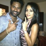 Trisha in Prabhu Deva's birthday bash.. why? Trisha answers!