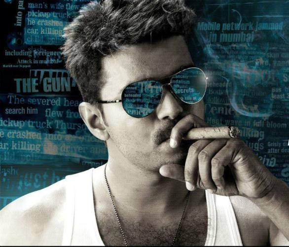 Thuppaki first look vijay poster 586x501 Thuppaki title case postponed again!