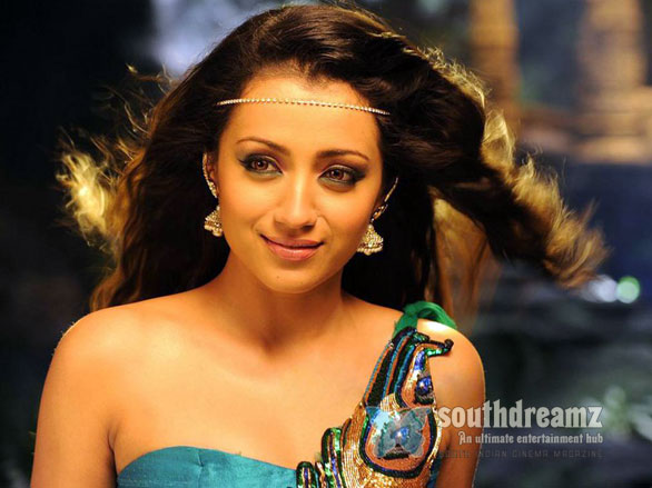 Trisha Hot in Dammu Stills 5 Trisha: No Im not engaged to Rana Daggubati!
