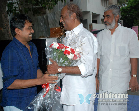 superstar Rajnikanth Watches Vazhakku En 18 9 Stills 3 Superstar Rajnikanths Vazhakku Enn 18/9 and Kamal Hassans OKOK
