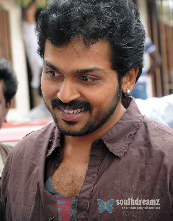 karthi s alex pandian shoot spot press meet stills Its all rumors about Karthi & Alex Pandian!