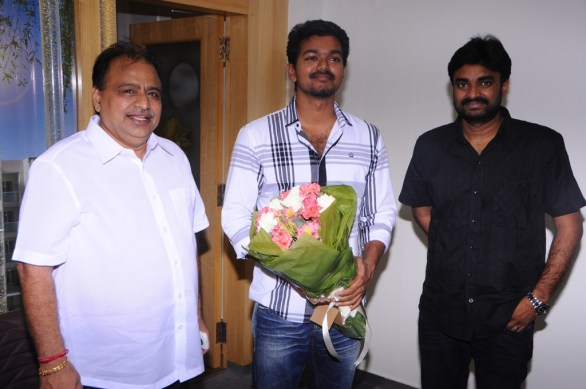 chandra prakash jain vijay vijay film 586x389 Project Vijay and AL Vijay started