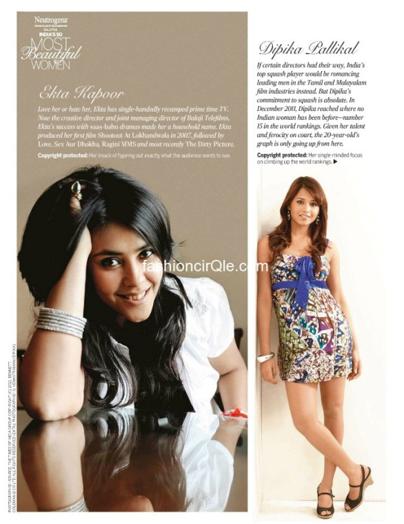 femina top 50 most beautiful women 2012 photos 17 586x760 Feminas Indias 50 Most Beautiful Women