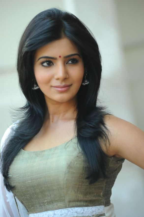 south actress Samantha Latest Hot Photo Shoot 586x879 What is that America story, Samantha?