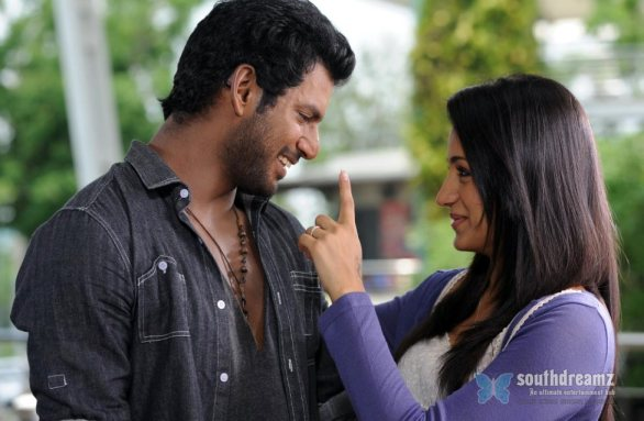 vishal and trisha in samar movie 15 586x383 Samar review