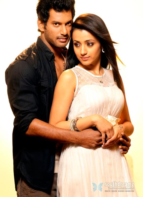 vishal and trisha in samar movie 3 586x804 Samar review