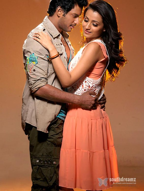 vishal and trisha in samar movie 9 586x776 Samar review