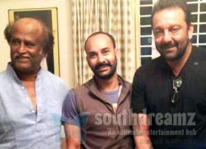 rajini sanjay Superstar Rajnikanth and Sanjay Dutt, not happening