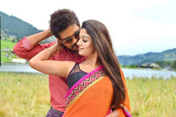 nagarjuna nayantara hot photos in greeku veerudu 10 586x390 Nayanatara Hot photos in Greeku Veerudu