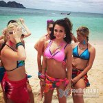 Amy-Jackson-bikini-pose-in-Yevadu