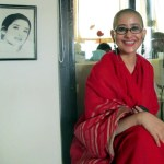 Manisha Koirala Goes Bald Manisha Koirala Tonsured Head