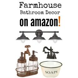Small Crop Of Farmhouse Bathroom Decor