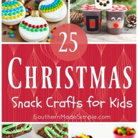 25 Edible Christmas Crafts for Kids