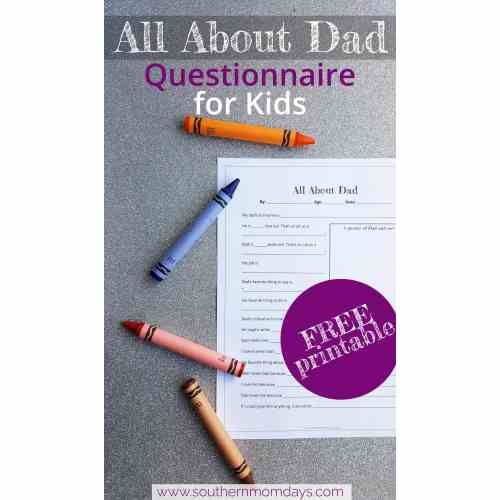 Medium Crop Of Fathers Day Questionnaire