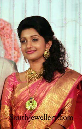 Meera Jasmine Wedding Reception Jewellery Jewellery Designs