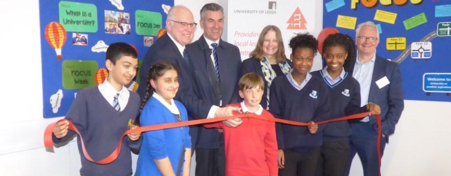 New centre encourages pupils Into University