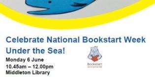 Celebrate National Bookstart Week