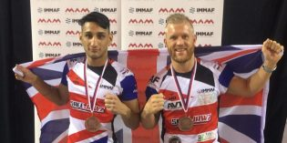 European medal for cage-fighter Tom