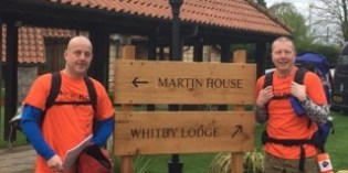 Last chance to sponsor epic hiker Dean