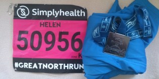 The Great North Run – a family affair