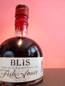 Blis Bourbon Barrel Aged Fish Sauce