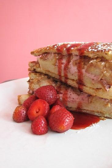 stuff french toast strawberry