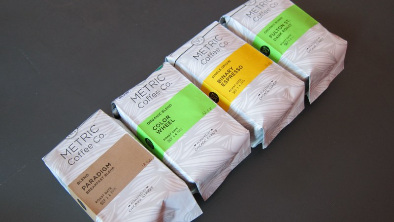 Metric Coffee – Rightly Weighted Beans