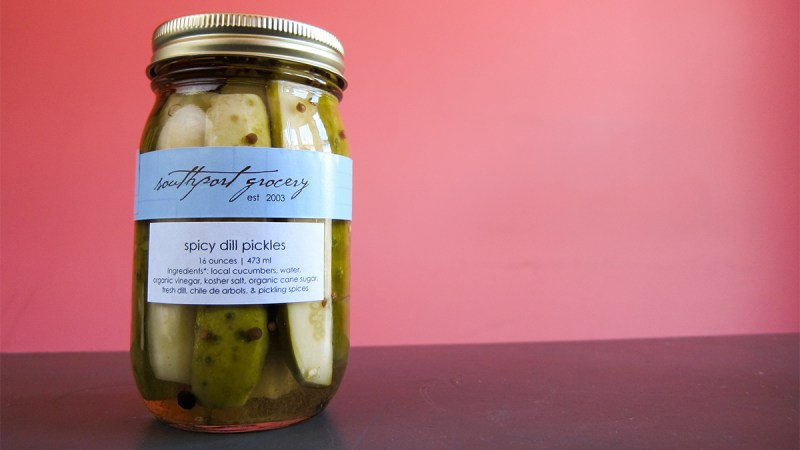 Our Spicy Dill Pickles – An Even Heat