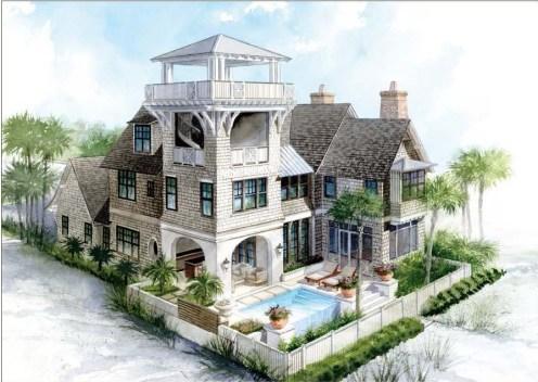 Gulfview at WaterSound Beach Watchtower Floor Plan