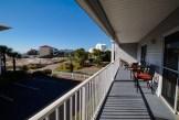 Private balcony at Beachside Villas