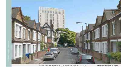 Plot 18 Aylesbury Road 'Thug' tower will block out ...