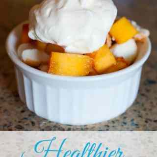 Healthier Whipped Cream : So Very Blessed