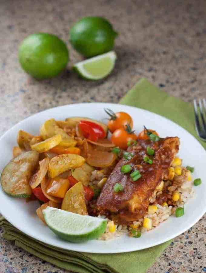Mexican Vegetable Skillet Recipe and LEAN CUISINE® MARKETPLACE MEALS : So Very Blessed - This healthy vegetable side dish full of summer squash, onion, and bell peppers is the perfect addition to add flair to any Mexican meal!