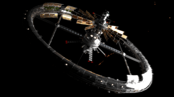 lenin space station wallpaper