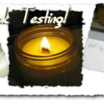 Wood Wick Testing Natures Garden Wicks
