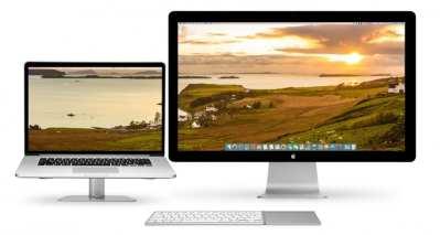 4 wallpapers para configuraciones dual monitor en Mac
