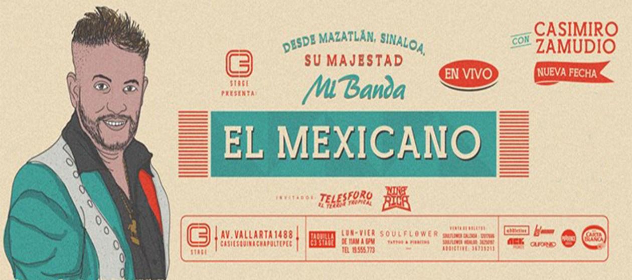 Mi Banda El Mexicano serán homenajeados.