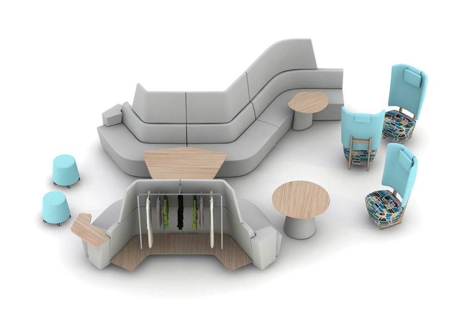 Picture of Away From Desk Reception Furniture