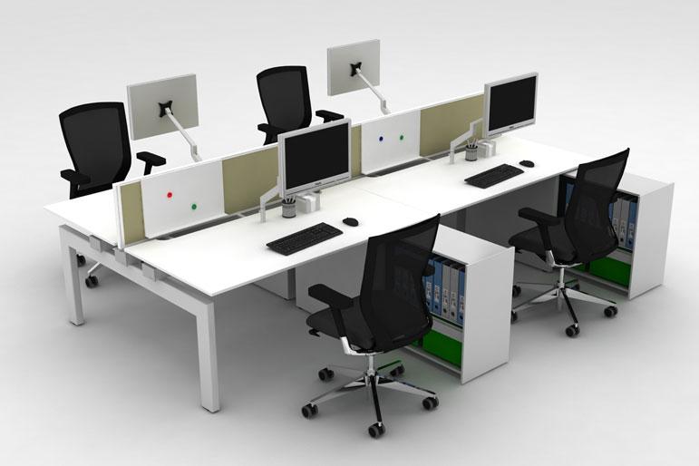 Picture of Techo Platform Office Bench Deskss