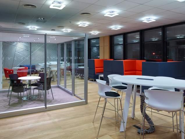 Thames Water Integrated Meeting Table I.T./AV