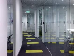 Thames Water Glass Doors