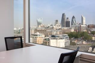 Image of Training Rooms with a view of the London skyline
