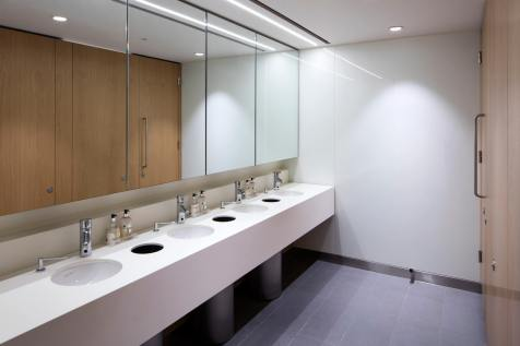 image of office toilets refurbishment
