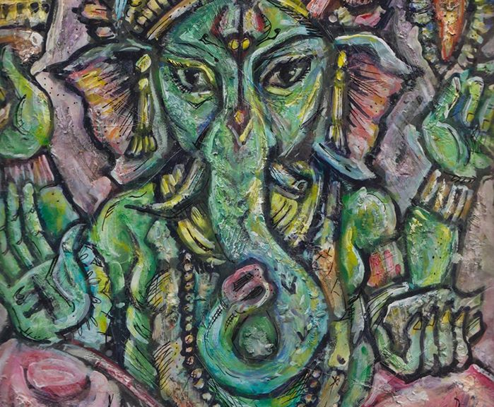 Ganesh, Opener of the Way by Kyle Fite