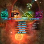 Space Pirates and Zombies Title Screen